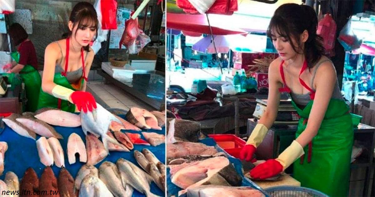 Тайваньская модель пришла на базар, чтобы помочь маме - и стала звездой!