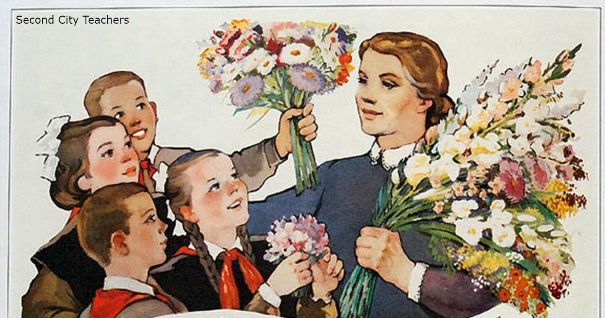 В России учителям и врачам запретят брать даже шоколадки! Ничего, кроме цветов
