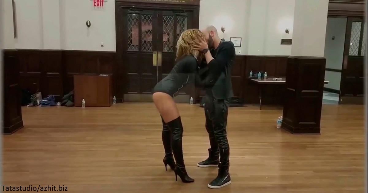 Танец этой пары стал хитом, как только  попал в интернет! Зацените