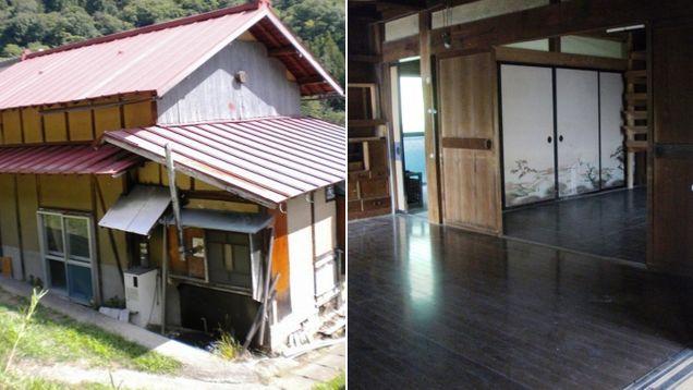 В Японии уже так много домов, что их раздают бесплатно!