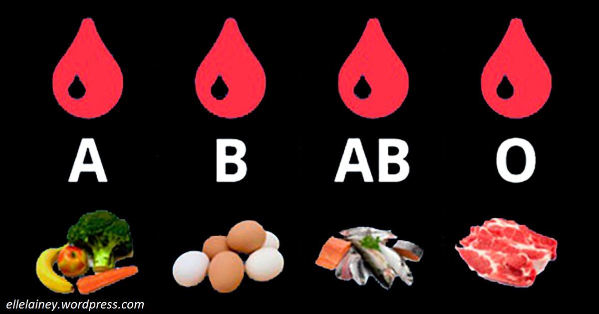 Диета по группе крови: вот что нельзя есть с вашей