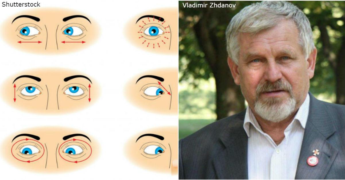 5 упражнений от профессора Жданова, которые могут спасти ваше зрение