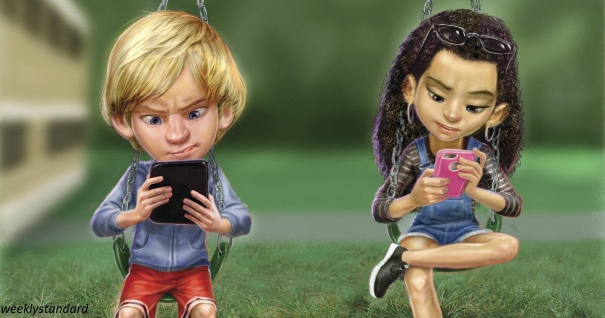 Мозги детей, сидящих по 7 часов за планшетами, испорчены навсегда!