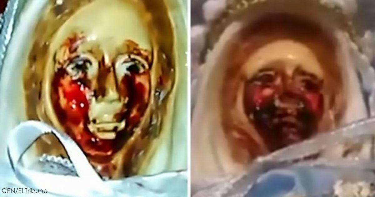 Статуя Девы Марии в Аргентине ″плачет″ уже в 38-й раз!