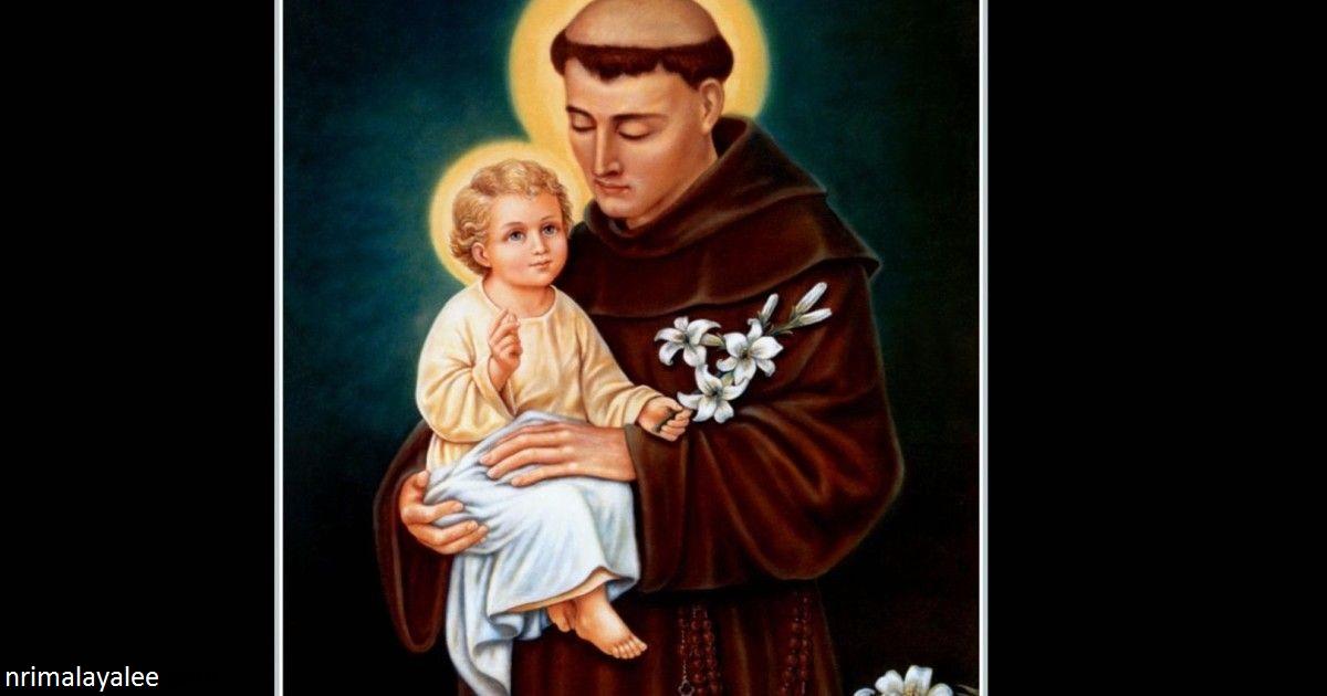 Молитва святому Антонию:  повторяйте 9 вторников подряд