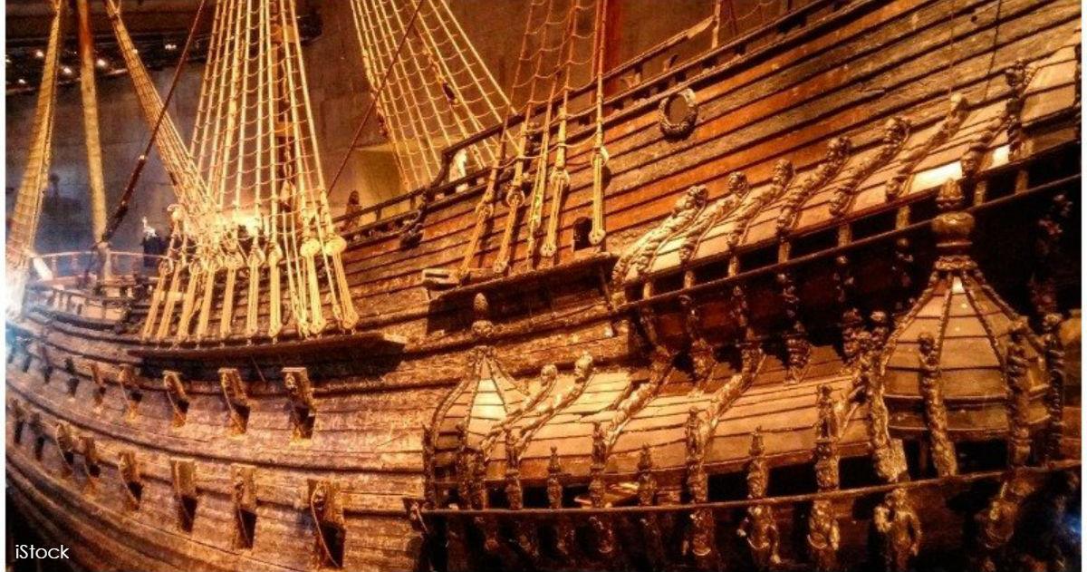 Шведский ″Титаник″: фото корабля XVII века, который стал памятником глупости