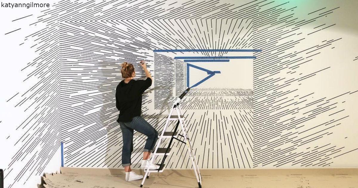 Художница создает иллюзии с помощью карандаша и простых линий. Не верится, да?