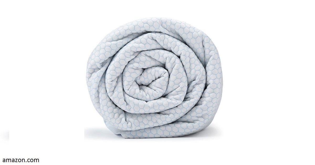 Появилось одеяло специально для тех, кому вечно жарко в постели
