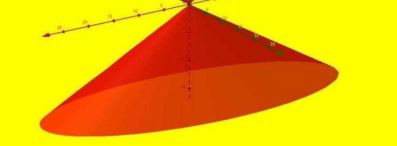 Что такое конус в геометрии? Определение, формулы, пример задачи