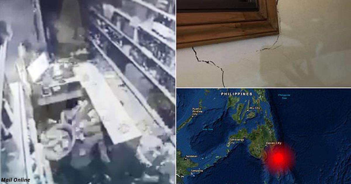 После 7,2 балльного землетрясения на Филиппинах ждут цунами