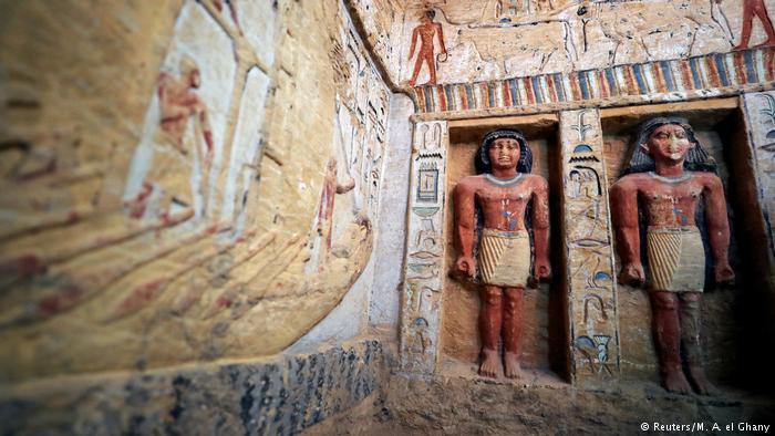 В Египте нашли совершенно нетронутую гробницу Фараона. Вот как она выглядит