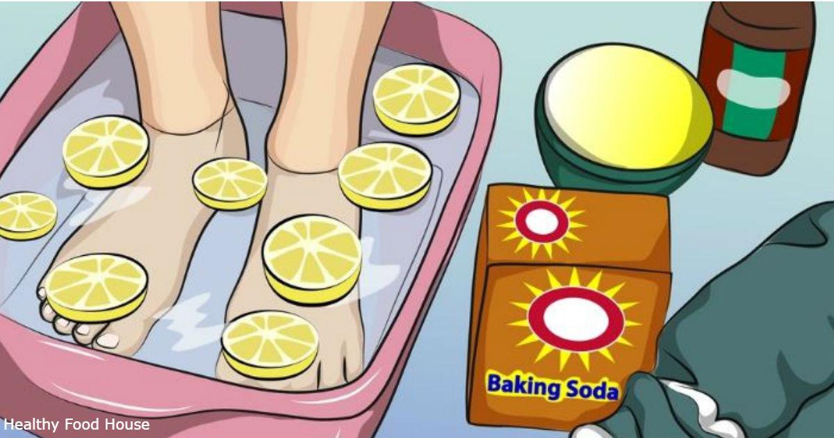 Горячая ванна для ног по этому рецепту даст вам силы жить вечером