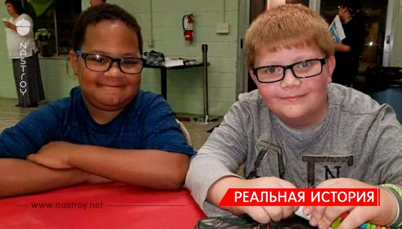 После смерти своего друга 12-летний мальчик собрал 00 ему на памятник