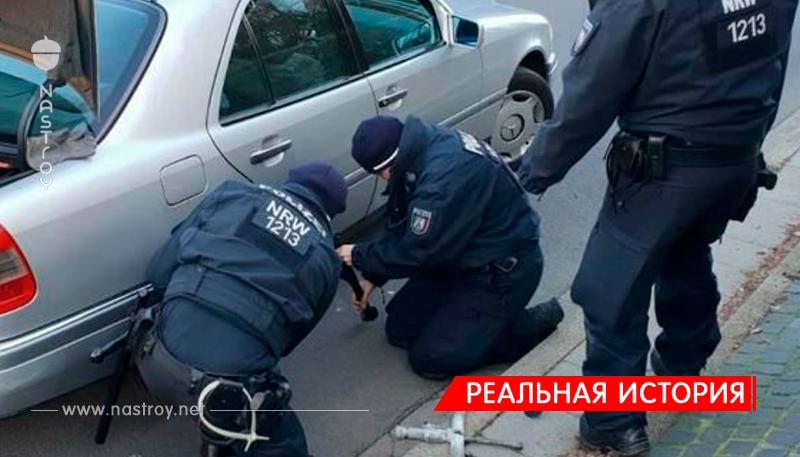 Полиция поменяла пенсионеру колесо, чтобы он не опоздал к врачу