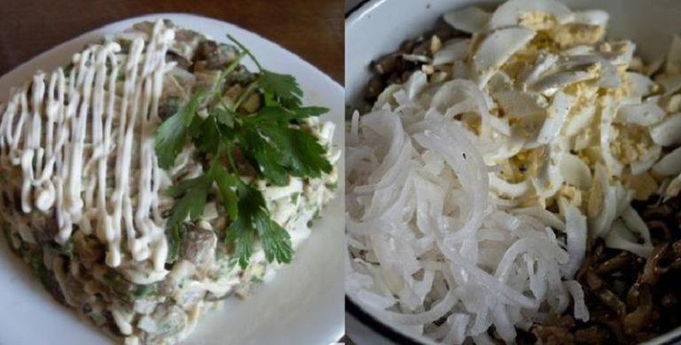 Моя семья очень любит такой салатик, уплетают за обе щеки!