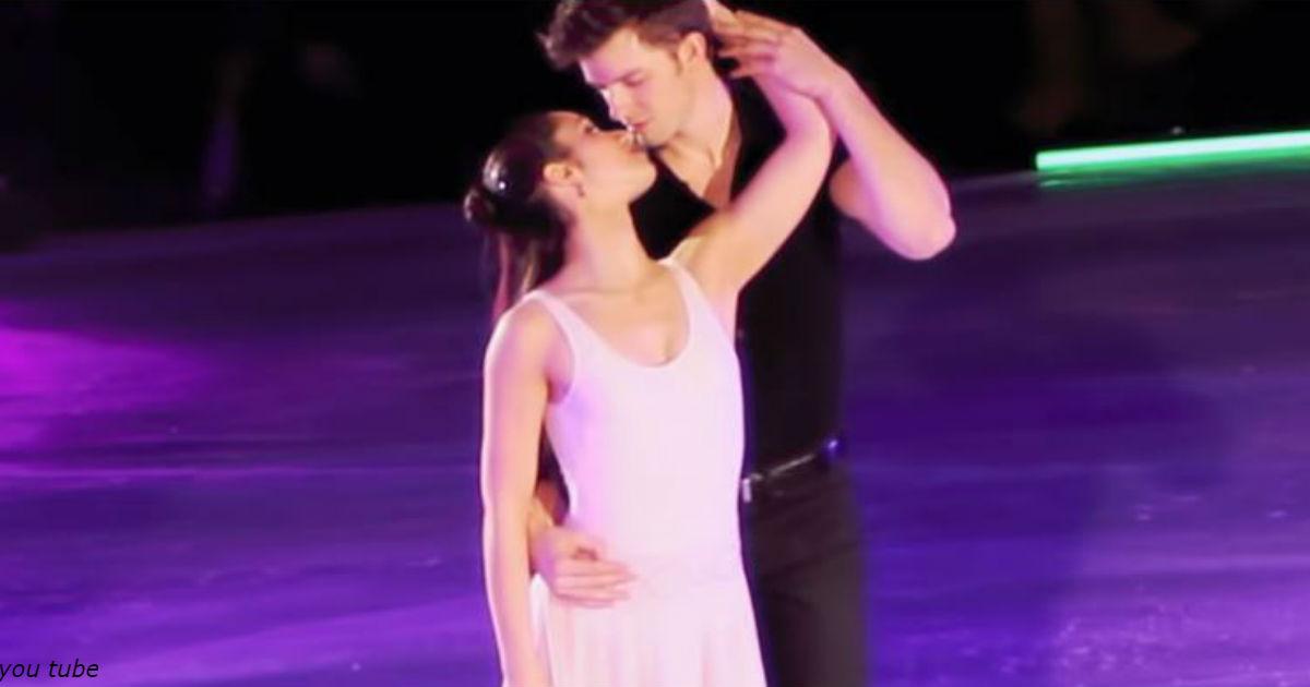 Они исполнили ″Грязные танцы″ прямо на льду! Одно выступление - и сразу в звезды!