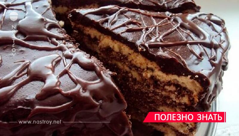 Обалденный торт на кефире «Черный принц».