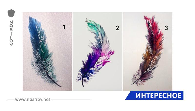 Выберите понравившееся перо!
