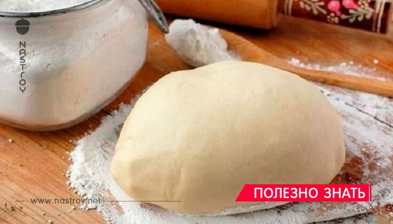 Тесто на кипятке для пельменей