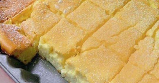 Нежный пирог из творога за 30 минут