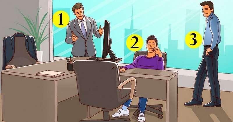 Задачка на логику: найдите хозяина кабинета!
