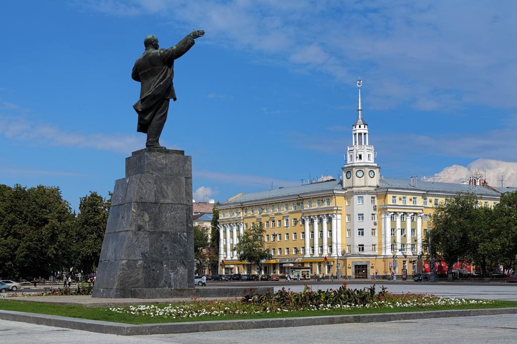Самые большие города Центральной России