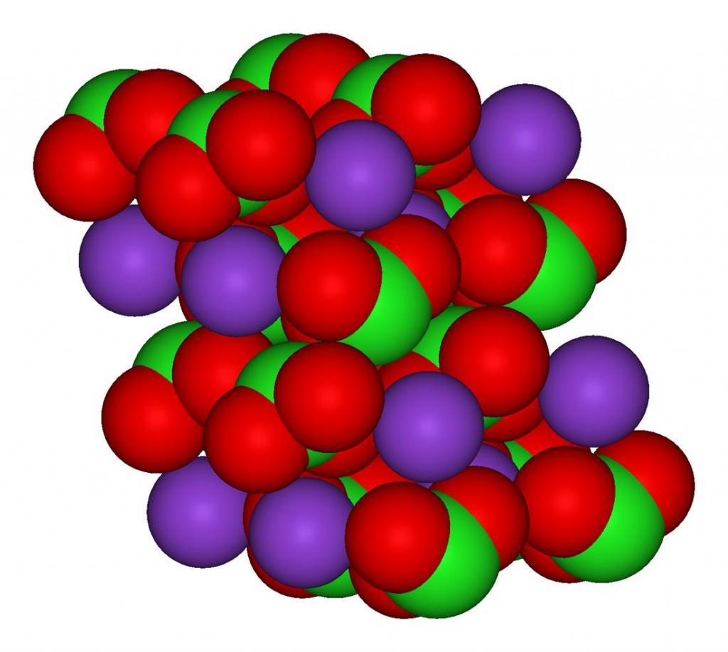Хлорат калия: описание, формула, свойства