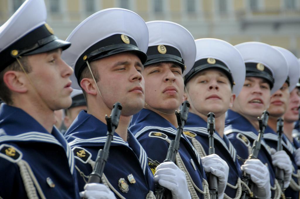 Военные звания в России по возрастанию