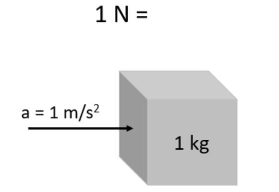 Что такое единица измерения силы?