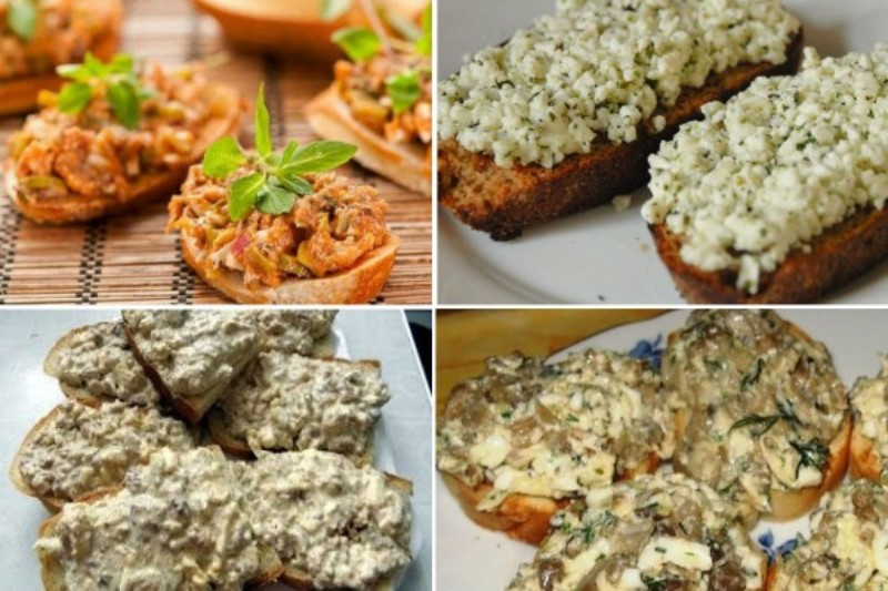 12 вкуснейших намазок на хлеб, которые утолят голод в два счёта