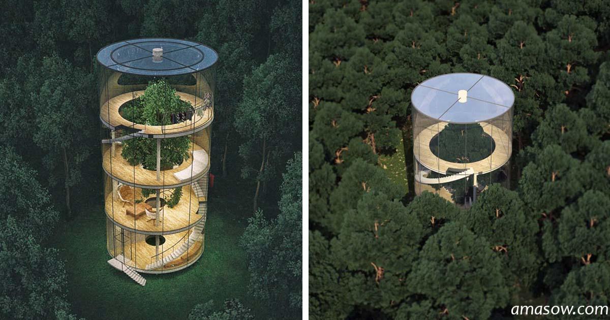 Архитектор из Казахстана придумал дом будущего: нам не жить, но хоть помечтать