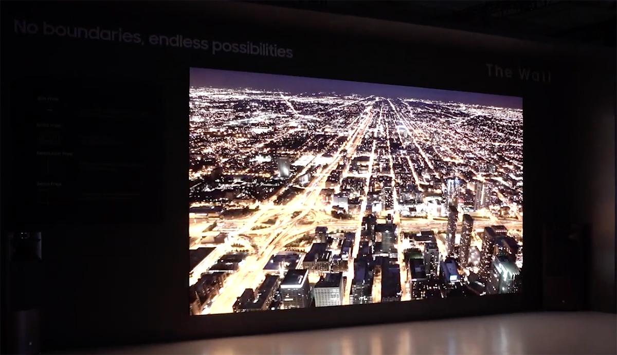 Samsung выпустил 219-дюймовый телевизор. Я уже никогда не выйду из дома!