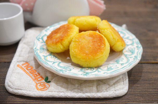 Сырники с кокосовой мукой