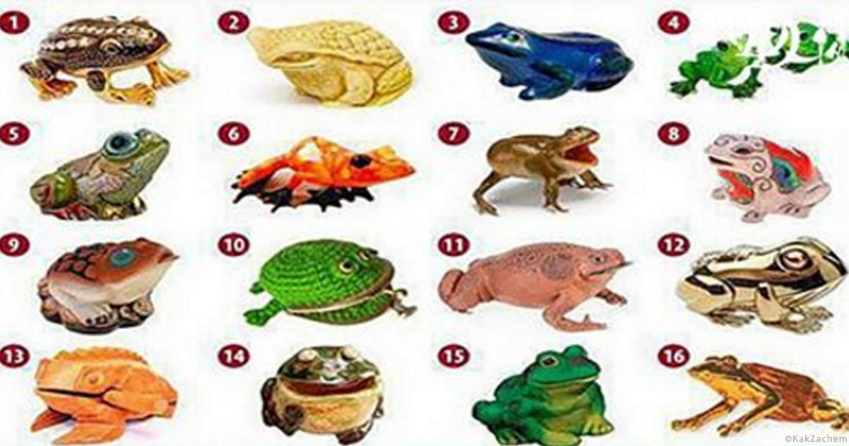 УНИКАЛЬНЫЙ Тест «Выберите лягушку и узнайте ваш путь к богатству» Прочитаете и вы будете в шоке!! точность на 90-95%!