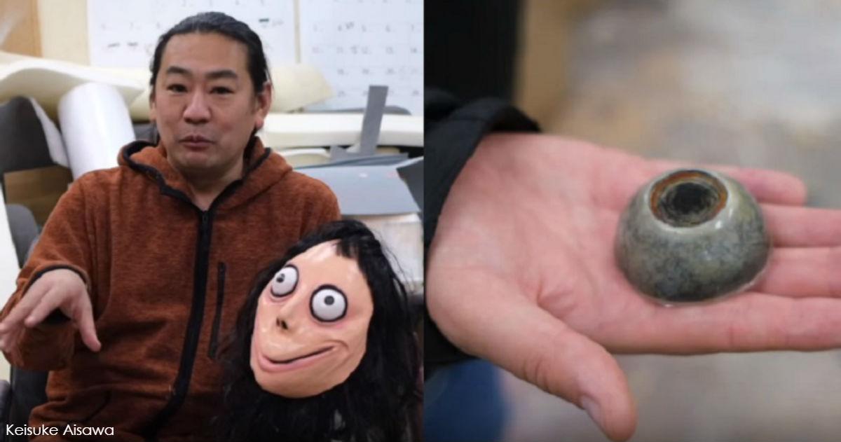 Японский художник, создавший «Момо», разрушил ее   из за онлайн истерики