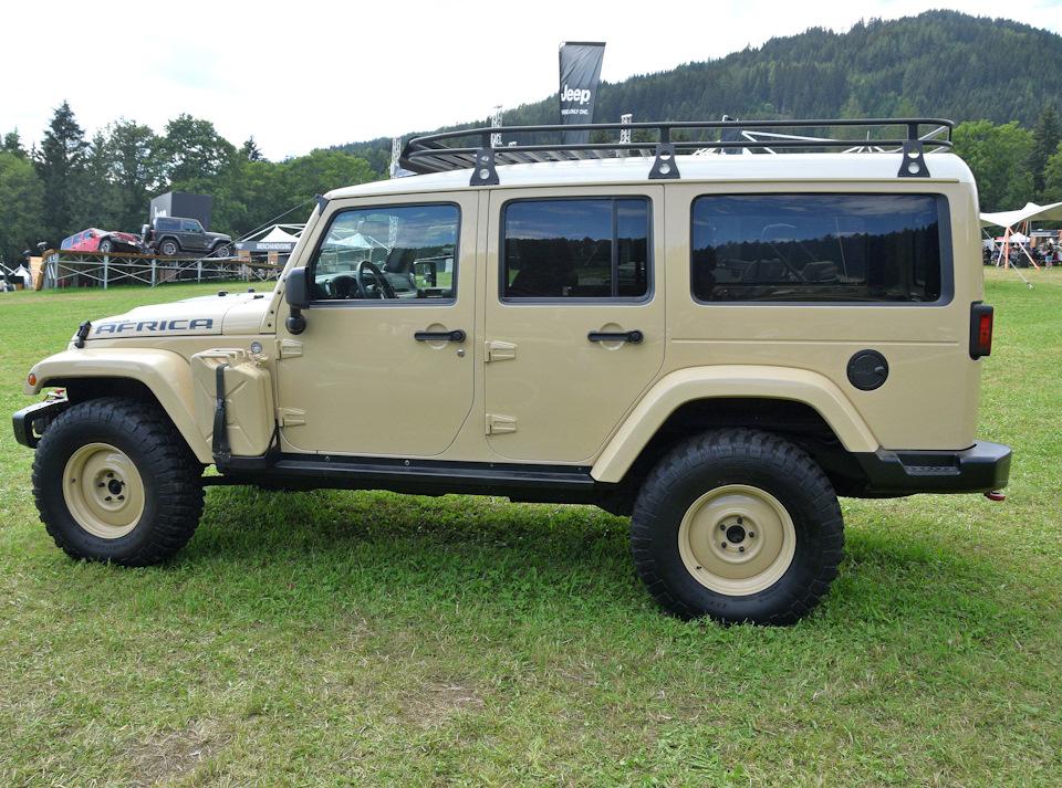 Потерянный брат Дефендера. Jeep Wrangler Unlimited Africa.