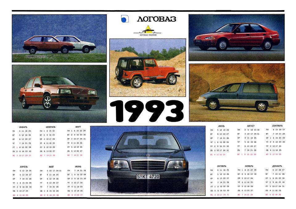 Автомобильные журналы 1990-ых. Реклама