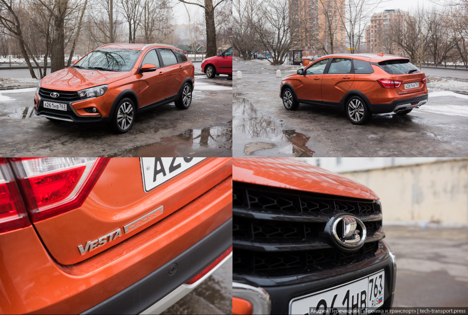 Lada Vesta SW Cross: АвтоВАЗ смог?