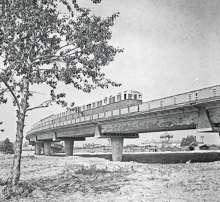 Мосты московского метрополитена