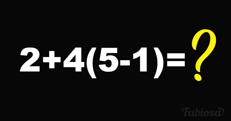 Тест: простые школьные примеры, которые ставят взрослых в тупик. А вы их решите?