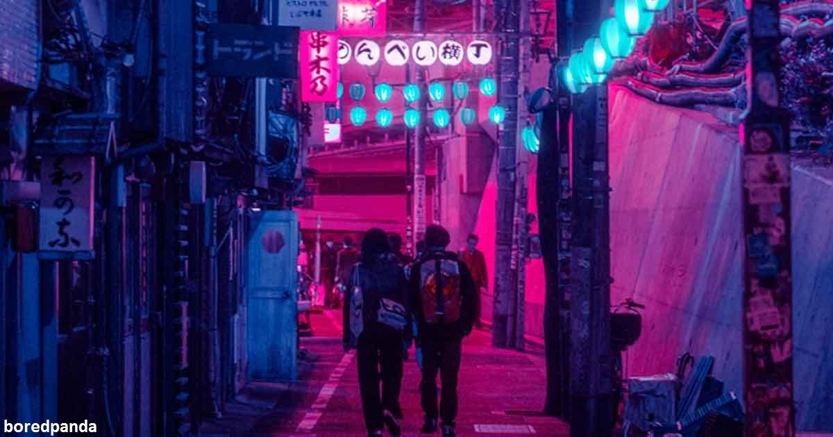 27 фото ночного Токио, которые доказывают: Япония   это вообще другая планета