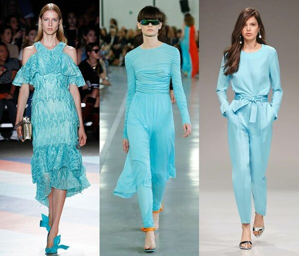 Какие цвета будут на пике моды весной летом 2019?