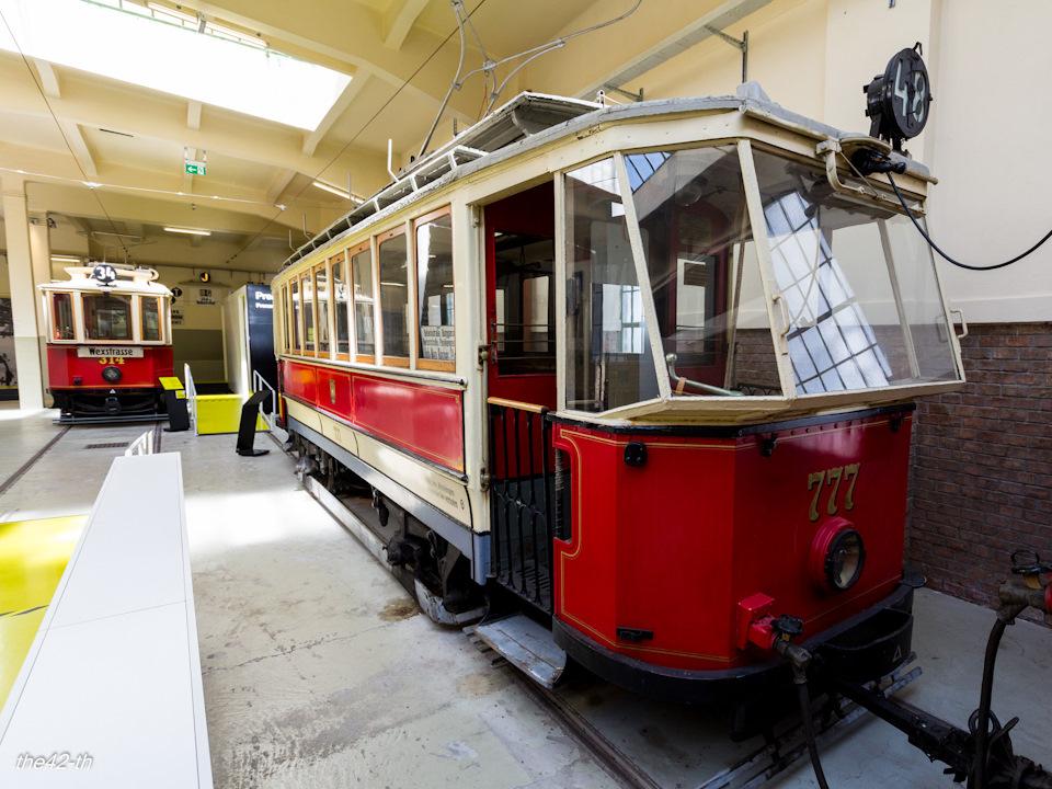 Музей общественного транспорта Remise в Вене. Окончание.