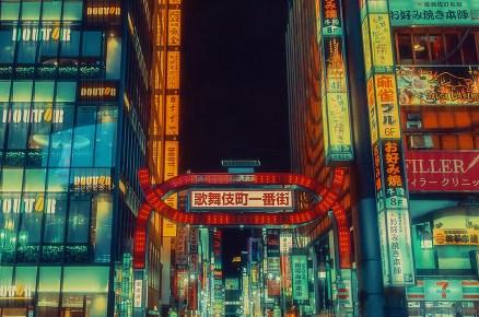 27 фото ночного Токио, которые доказывают: Япония - это вообще другая планета