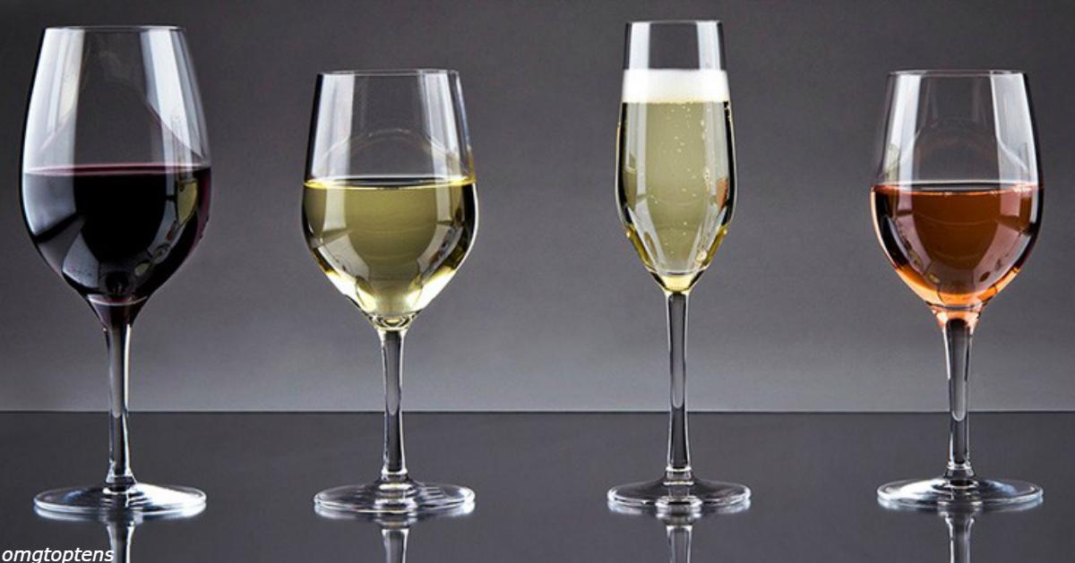 Бокалы для вина сегодня в семь раз больше, чем 300 лет назад