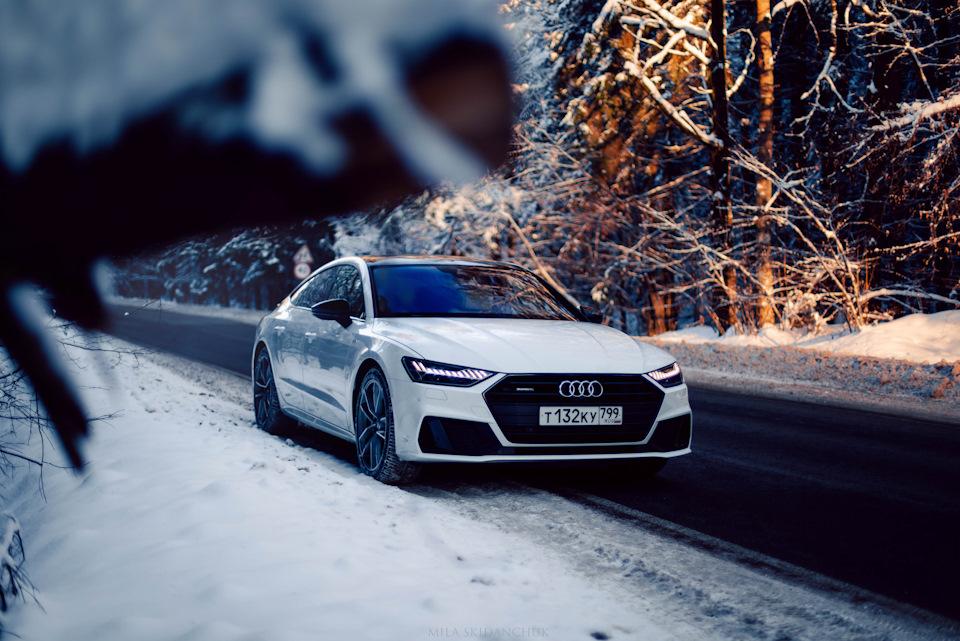 Audi A7 ❄️
