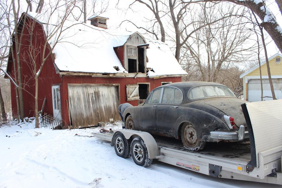 Затерянный в Айове: как Jaguar отыскали на ферме в США