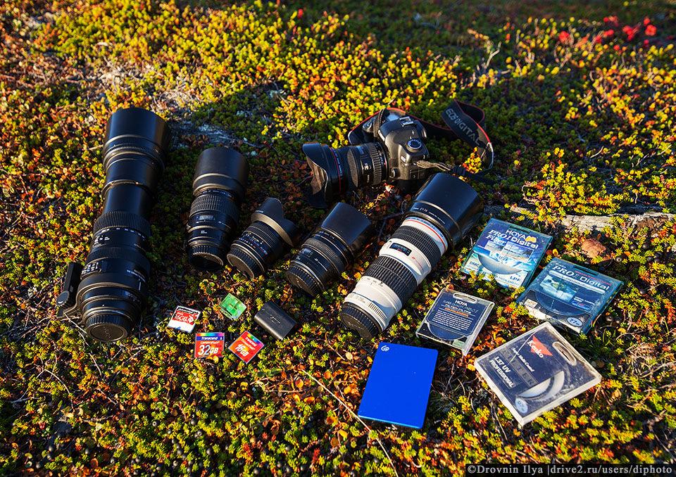 Моя фототехника для путешествий. На что снимать, чтобы было красиво за дешево.