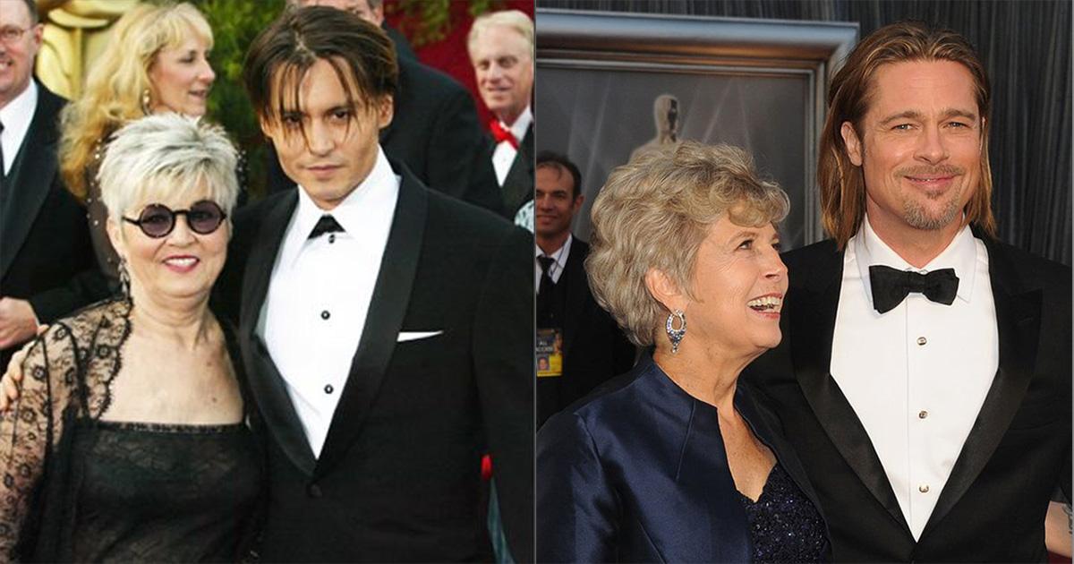 15 трогательных фото знаменитых мужчин с самыми главными женщинами в их жизни