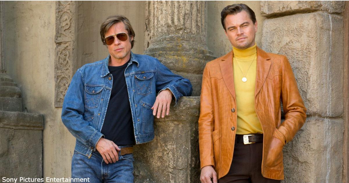 Первый трейлер нового фильма Тарантино - с Питтом и ДиКаприо в главных ролях